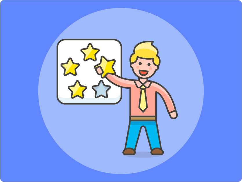 Agents earning gold stars