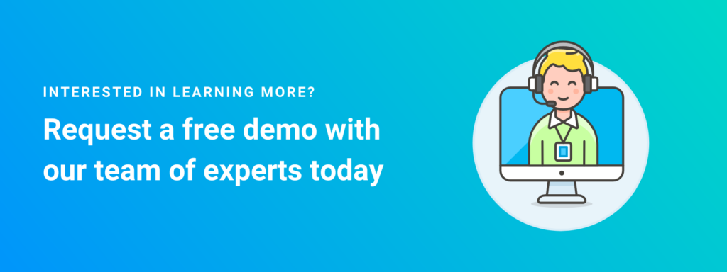 Request a free demo with Ozmo
